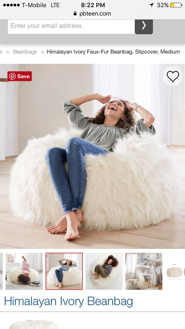 a49450d88d4f Pottery Barn Bean Bag Cover for Sale in Los Angeles