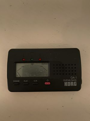 Korg GA-1 Guitar Bass tuner for Sale in Castro Valley, CA