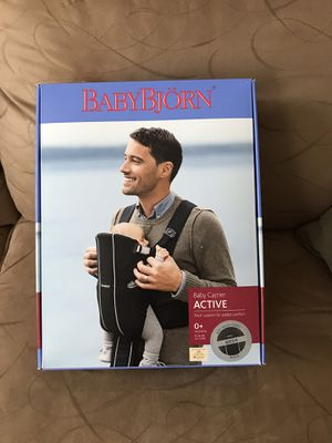 Baby Carrier - Baby Bjorn Active for Sale in Wexford, PA