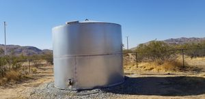 5000 Gallon Galvanized Steel Water Tank for Sale in Apple Valley, CA