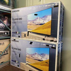 85 INCH SAMSUNG CRYSTAL UHD SMART 4K TV TVS GAMING TV HUGE TV SALE for Sale in Burbank, CA