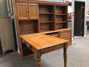 Desk Shelf File Cabinets Unit Ashley for Sale in Las Vegas, NV