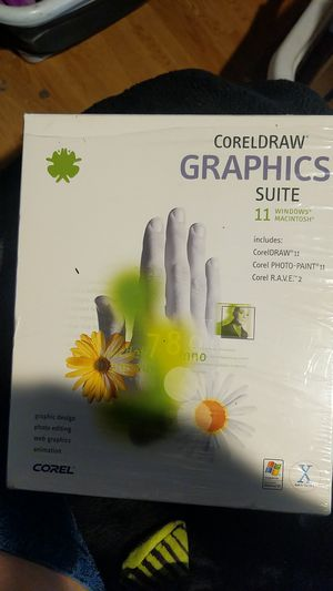 Coreldraw , graphics suite 11 for Sale in Oregon City, OR