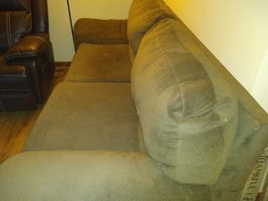 Brown comfy couch for Sale in Columbia, TN