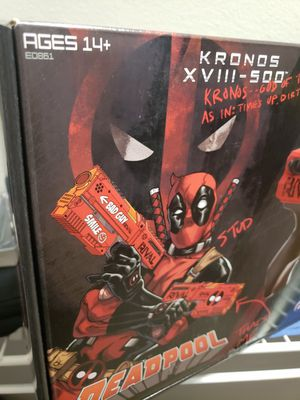 Deadpool Limited Edition Nerf Kronos XVIII Gun Set for Sale in Rockville, MD