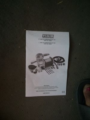 VIAIR .....AIR COMPRESSOR 12V 250C for Sale in Ferndale, WA