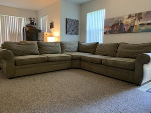 Pottery Barn Sectional Couch ( 3 pieces) for Sale in Winter Garden, FL