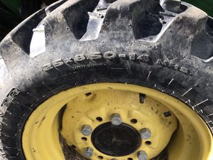 John Deere tractor tires for Sale in Street, MD