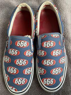 Supreme 666 Vans / Size 11.5 for Sale in Visalia,  CA