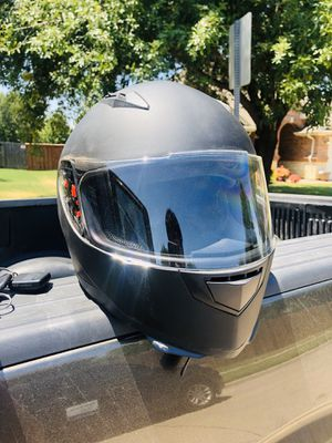 Motorcycle helmet, tinted visor, and gloves!!! for Sale in Moon, PA