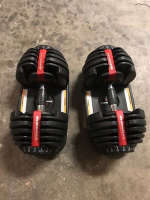 Bowflex Adjustable Dumbbells 552 for Sale in Pittsburg, CA