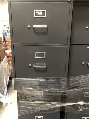 7(seven) two draw filing cabinets for Sale in Rosedale, MD