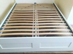 Ikea FULL DOUBLE Sz Size Bedframe Bed Frame (NO DRAWERS & NO MATTRESS) for Sale in Monterey Park, CA