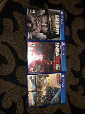 PS4 games for sale for Sale in South Salt Lake, UT
