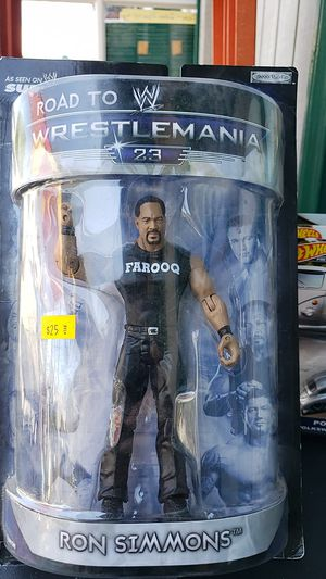 WWE ACTION FIGURE COLLECTIBLE RON SIMMONS PICK UP IN WHITTIER THANKS 😊 for Sale in City of Industry, CA
