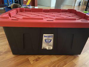 Homz 15 Gallon Tough Storage Container for Sale in Bellevue, WA