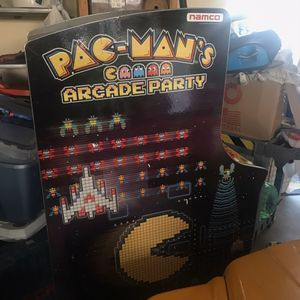 Pac-Man's Full Size Party Arcade with 13 games for Sale in Maple Park, IL