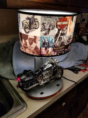 Harley Davidson Collector Lamp for Sale in Monrovia, MD