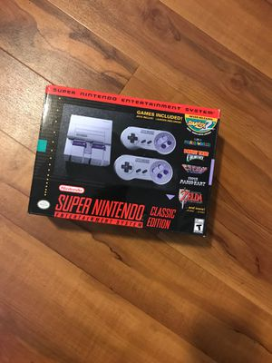 Super Nintendo *New* for Sale in Boston, MA
