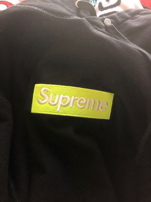 Supreme neon green box logo fw17 100% authentic for Sale in Wrentham, MA