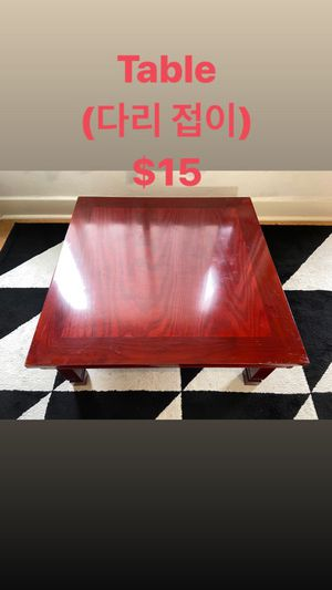 Korean Traditional table for Sale in Los Angeles, CA