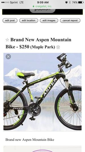 New And Used Mountain Bikes For Sale In Rockford Il Offerup