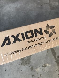 Axion Projector Screen for Sale in San Jose,  CA