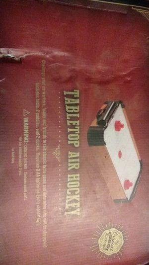 Tabletop air hockey for Sale in Evansville, IN