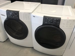 Kenmore front load washer and dryer electric set with warranty for Sale in Woodbridge, VA