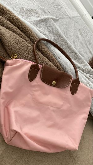 Long champ light pink big bag for Sale in Miami, FL