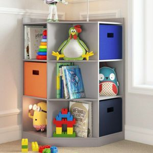 6-Cubby, 3-Shelf Corner Cabinet for Sale in Galloway, OH
