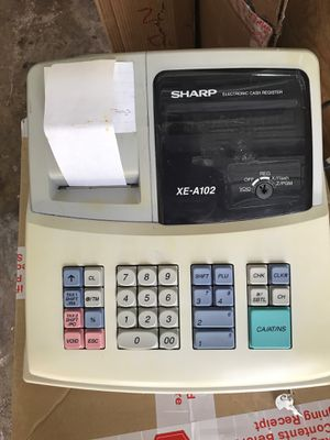 Sharp electronic cash register XE-A102 for Sale in Palm Harbor, FL
