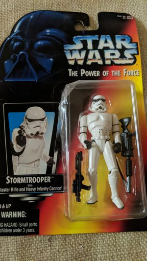 Kenner Star Wars Power of the Force Stormtrooper Action Figure for Sale in Visalia, CA