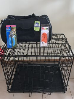 New Doggy Cage And Bag Carrier for Sale in Jersey City,  NJ
