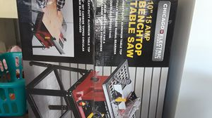 Table saw with bench for Sale in Spring Hill, FL