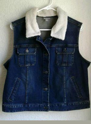 Women's Large J. Jill Vest Jacket for Sale in Clearwater, FL