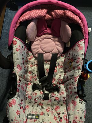 Minnie Mouse infant car seat for Sale in Fort Worth, TX
