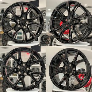 "20"" srt style wheels rims 5x127 fit Jeep Grand Cherokee Dodge Durango Laredo limited molar for Sale in Brooklyn, NY"