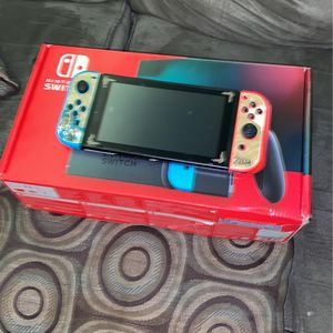 Nintendo Switch Full (With Zelda Cover) for Sale in Columbia, MD