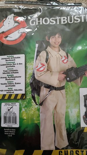 Kids Ghost buster costume for Sale in Sanford, FL