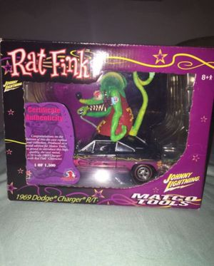 2006 Johnny Lightning Dodge Charger R/T Rat Fink Collectible Die Cast Model Car for Sale in Tyler, TX