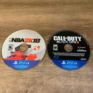 *** 2K18 & Black Ops 3 *** Only $30 for Sale in Modesto, CA