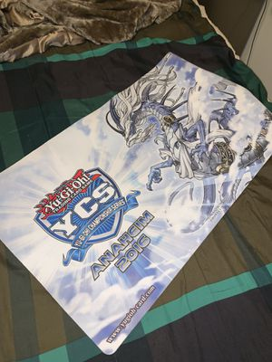 Yugioh Play Mat YCS Anaheim 2016 Brand New for Sale in Rancho Palos Verdes, CA