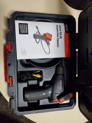 Ridgid Micro CA-25 Handheld Inspection Camera for Sale in San Jose, CA