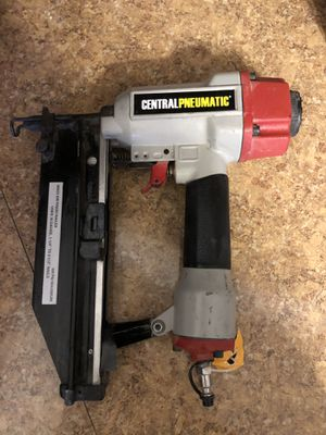 Central pneumatic nail gun for Sale in Baltimore, MD