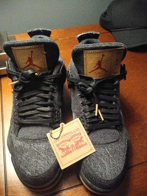 Levi's Jordan 4's new in box 10.5 mens for Sale in Suwanee, GA