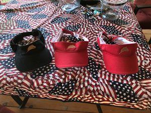 Parelli visor, 2 red and 1 black for Sale in Graceville, FL