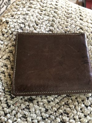 Leather wallet for Sale in Richmond, CA