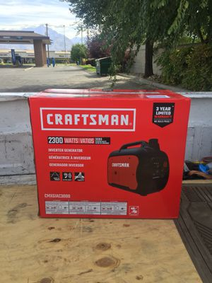 Craftsman gas powered generator never been unboxed. 550$ obo for Sale in Salt Lake City, UT