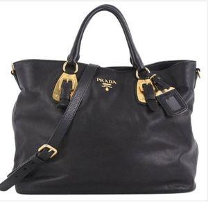 $2000 Prada Black Leather Satchel Handbag Purse Bag for Sale in Alhambra, CA